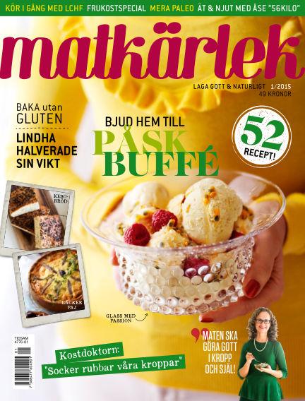 Matkärlek (Inga nya utgåvor) March 26, 2015 00:00
