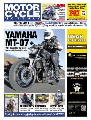 Motor Cycle Monthly March 2014