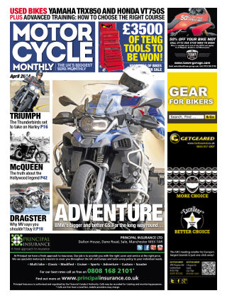 Motor Cycle Monthly April 2014