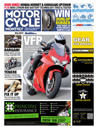 Motor Cycle Monthly May 2014