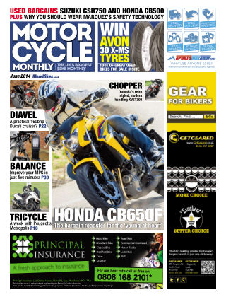 Motor Cycle Monthly June 2014