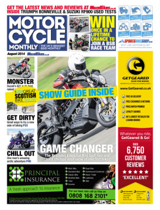 Motor Cycle Monthly August 2014