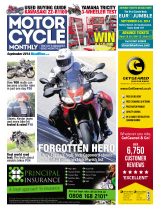 Motor Cycle Monthly September 2014