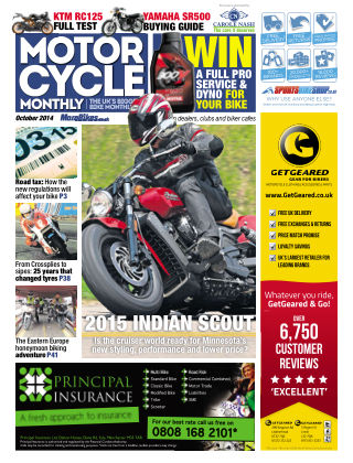Motor Cycle Monthly October 2014
