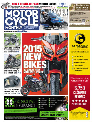 Motor Cycle Monthly November 2014
