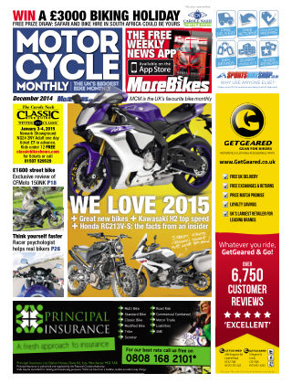 Motor Cycle Monthly December 2014