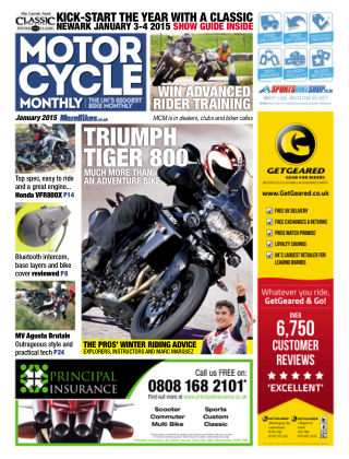 Motor Cycle Monthly January 2015