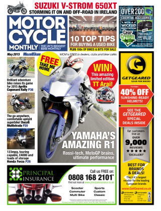 Motor Cycle Monthly May 2015
