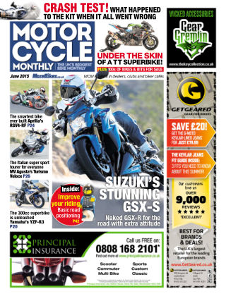 Motor Cycle Monthly June 2015