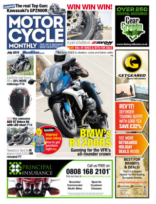Motor Cycle Monthly July 2015