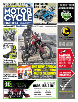 Motor Cycle Monthly September 2015
