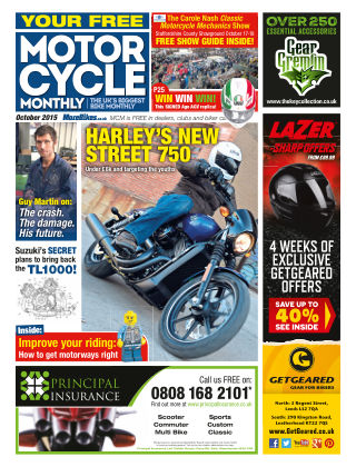 Motor Cycle Monthly October 2015