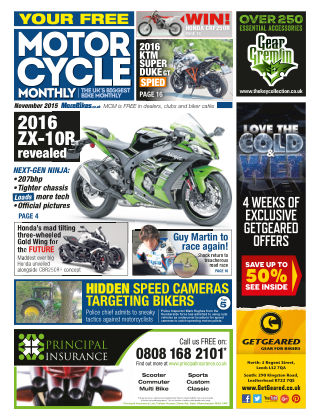 Motor Cycle Monthly November 2015