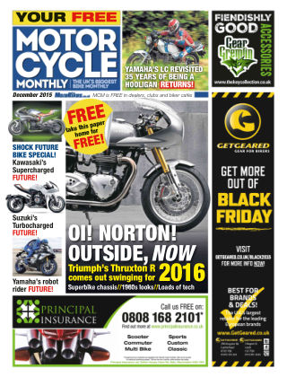 Motor Cycle Monthly December 2015