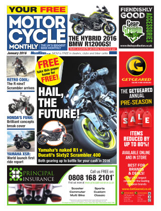 Motor Cycle Monthly January 2016