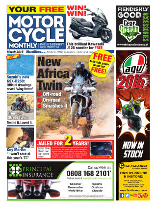 Motor Cycle Monthly March 2016