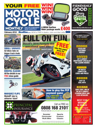 Motor Cycle Monthly February 2016