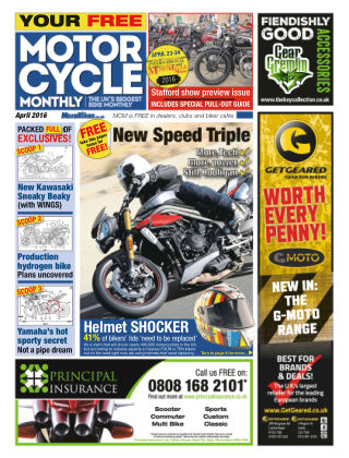 Motor Cycle Monthly April 2016