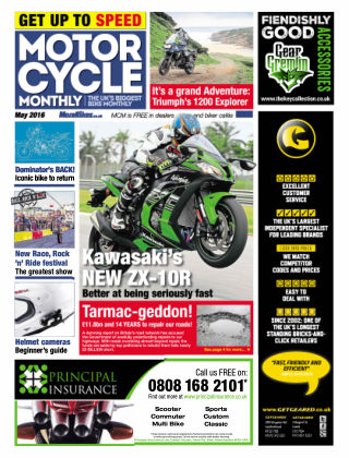 Motor Cycle Monthly May 2016