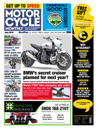 Motor Cycle Monthly June 2016