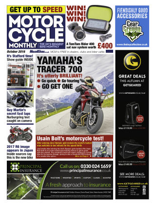 Motor Cycle Monthly October 2016