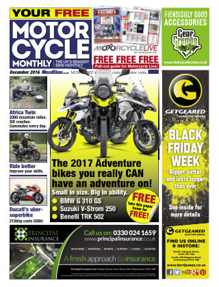 Motor Cycle Monthly December 2016