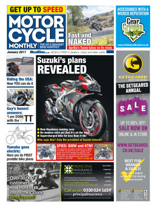Motor Cycle Monthly January 2017