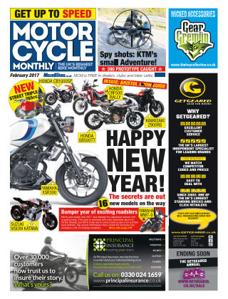 Motor Cycle Monthly February 2017