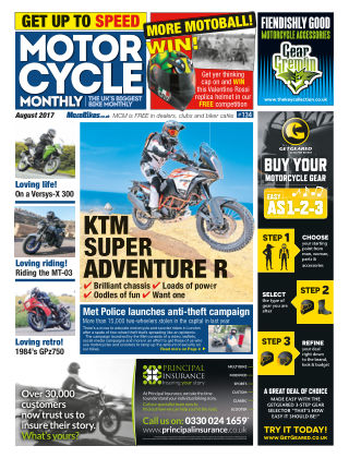 Motor Cycle Monthly August 2017