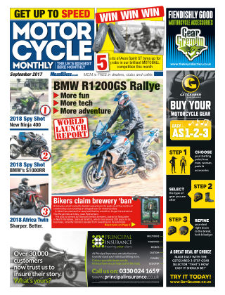 Motor Cycle Monthly September 2017