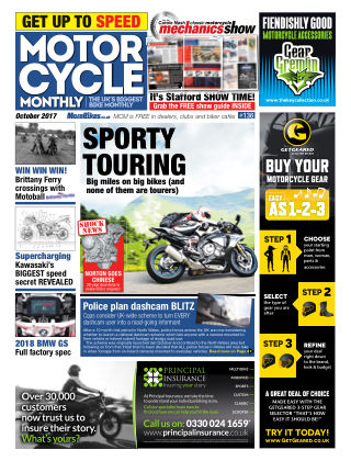 Motor Cycle Monthly October 2017