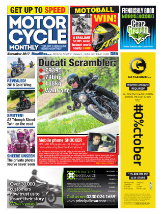 Motor Cycle Monthly November 2017