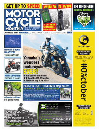 Motor Cycle Monthly December 2017
