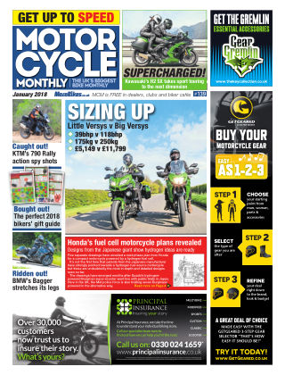 Motor Cycle Monthly January 2018