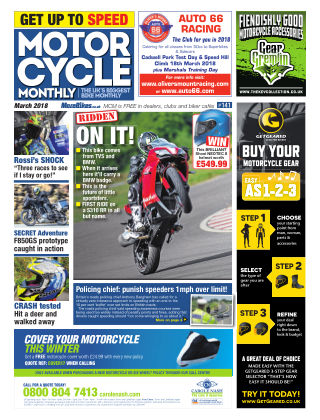 Motor Cycle Monthly March 2018