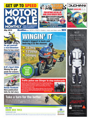 Motor Cycle Monthly May 2018