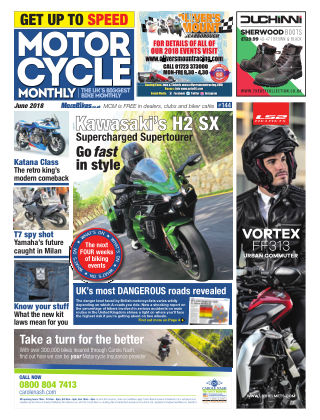 Motor Cycle Monthly June 2018