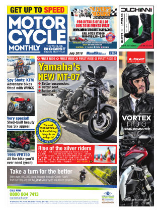 Motor Cycle Monthly July 2018