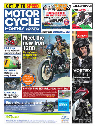 Motor Cycle Monthly August 2018