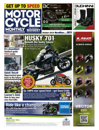 Motor Cycle Monthly October_2018