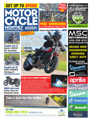 Motor Cycle Monthly January 2019