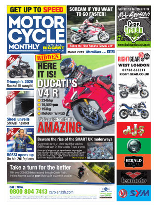 Motor Cycle Monthly March_2019