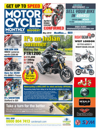 Motor Cycle Monthly May_2019