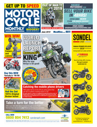Motor Cycle Monthly June_2019