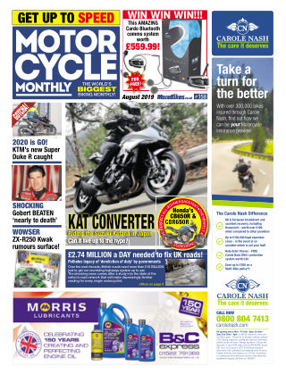 Motor Cycle Monthly August_2019