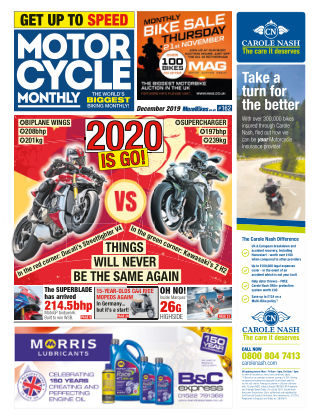 Motor Cycle Monthly December 2019