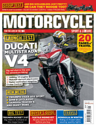 Motorcycle Sport & Leisure January 2021