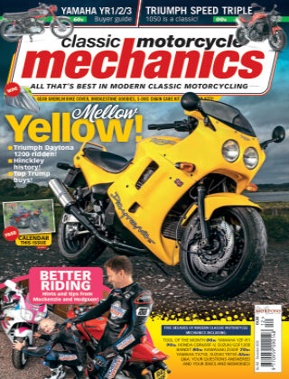 Classic Motorcycle Mechanics December 2020