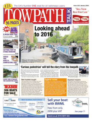 Towpath Talk January 2016