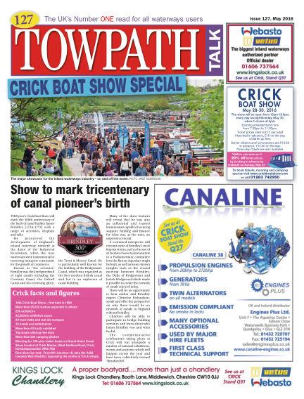 Towpath Talk April 28, 2016 00:00